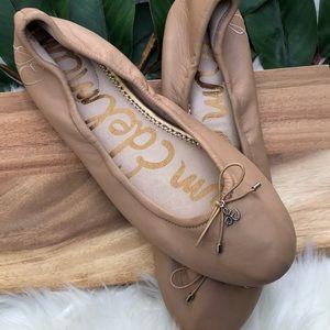 NWT Sam Edelman Felicia ballet nude flats 9 1/2